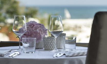Sala ristorante Hotel Abner's Riccione