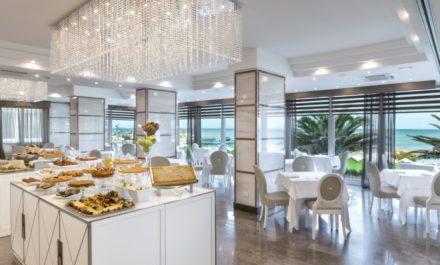 Sala da pranzo Hotel Tiffany's Riccione